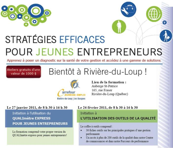 Formation jeunes entrepreneurs